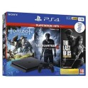 SONY PS4 1TB + Horizion ZD + The Last Of Us + Uncharted 4 HITS