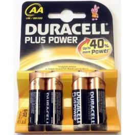 BATTERIA DURACELL STILO PLUS POWER- BL 4PZ