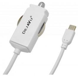 DEJAVU CARICATORE AUTO ULTRASLIM 2.1A MICRO USB