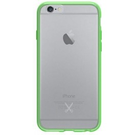 PHILO HARD CASE WITH SOFT BUMPER FOR IPHONE 7 LIGHT GREEN