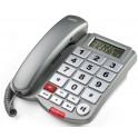 SAIET MACRO SOS II TELEFONO A FILO MULTIFUNZIONE VIVAVOCE TASTI GRANDI